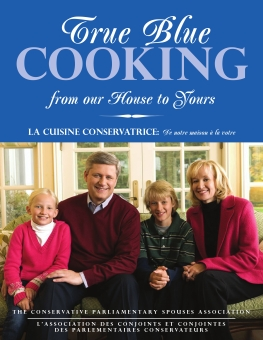 Proposed cover design for Conservative Party cookbook (2008). They ended up with a single colour cover with text only...cuz you know, *conservative* and all... This still looks pretty good, though.