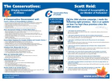 Election campaign broadsheet (inside spread)