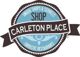 Logo for Facebook page aimed at increasing shopping in Carleton Place
